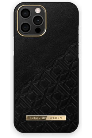 IDEAL OF SWEDEN Mobil Covers - Atelier Case iPhone 12 Pro Max Embossed Black