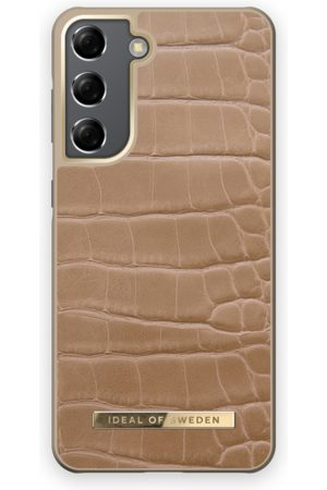 IDEAL OF SWEDEN Mobil Covers - Atelier Case Galaxy S21 Camel Croco