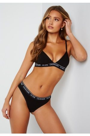 Calvin Klein Kvinder Ikke-vatteret BH - Unlined Triangle 001 Black
