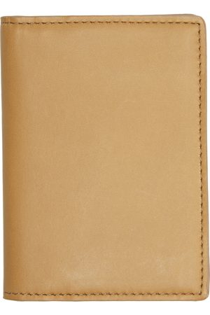 COMMON PROJECTS Tan Card Holder Wallet
