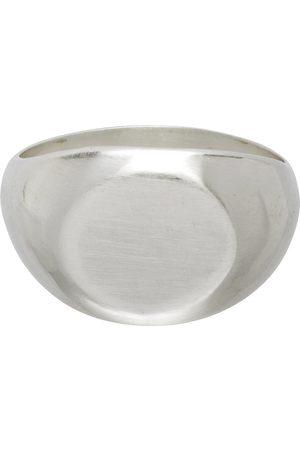Jil Sander Mænd Ringe - Silver Classic Chevalier Ring