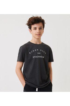 Björn Borg Kortærmede - T-Shirt - Sthlm - Antracite Melange