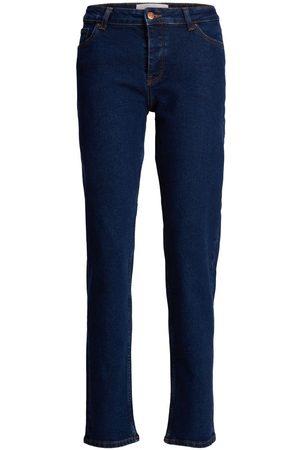 JACK & JONES Jxseoul Mw Cc3001 Straight Fit Jeans Kvinder Blue; Brown