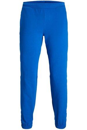 JACK & JONES Mænd Joggingbukser - Jxalberte Afslappet Træningsbukser Kvinder Blue; Brown