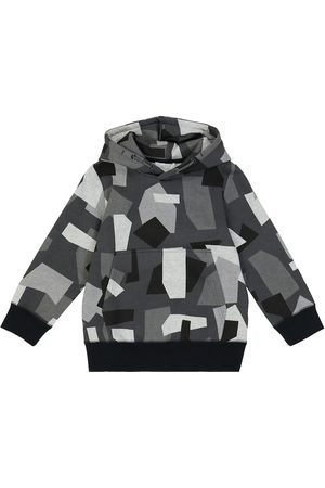 Stella McCartney Drenge Højhalset - Camouflage cotton-blend hoodie