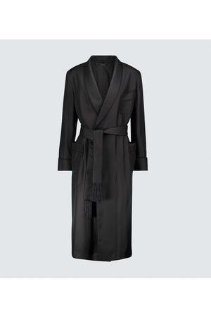 Tom Ford Silk velvet-lined robe