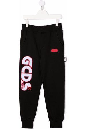 GCDS Joggingbukser med logotryk