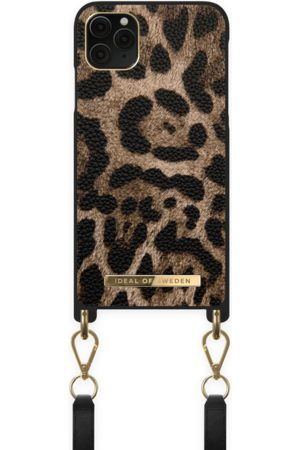 IDEAL OF SWEDEN Kvinder Mobil Covers - Atelier Necklace Case iPhone 11 Pro Max Midnight Leopard