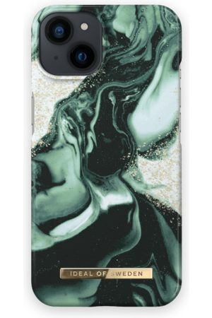 IDEAL OF SWEDEN Mobil Covers - Fashion Case iPhone 13 Golden Olive Marble