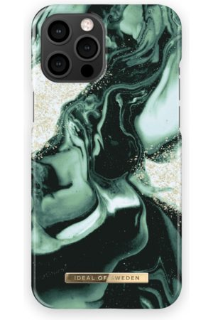 IDEAL OF SWEDEN Mobil Covers - Fashion Case iPhone 13 Pro Max Golden Olive Marble