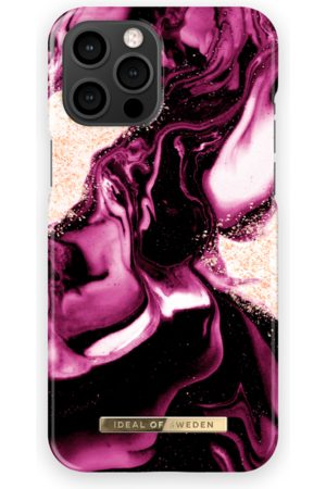 IDEAL OF SWEDEN Mobil Covers - Fashion Case iPhone 13 Pro Max Golden Ruby Marble
