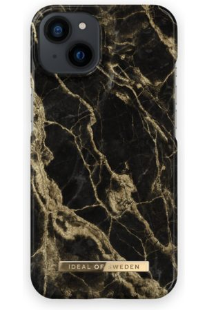 IDEAL OF SWEDEN Mobil Covers - Fashion Case iPhone 13 Golden Smoke Marble