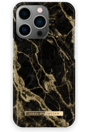 IDEAL OF SWEDEN Mobil Covers - Fashion Case iPhone 13 Pro Golden Smoke Marble