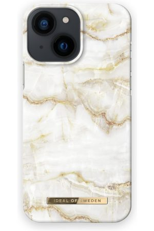 IDEAL OF SWEDEN Mobil Covers - Fashion Case iPhone 13 Mini Golden Pearl Marble