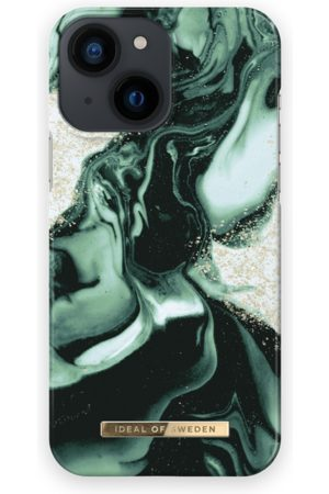 IDEAL OF SWEDEN Mobil Covers - Fashion Case iPhone 13 Mini Golden Olive Marble