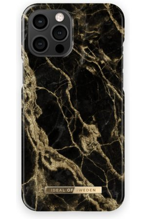 IDEAL OF SWEDEN Mobil Covers - Fashion Case iPhone 13 Pro Max Golden Smoke Marble