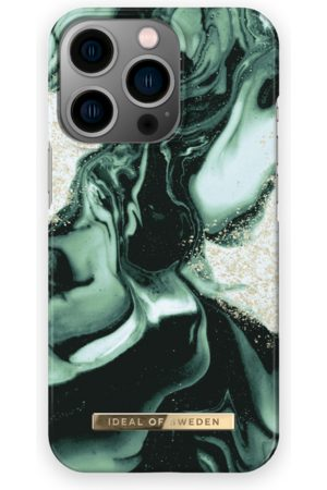 IDEAL OF SWEDEN Mobil Covers - Fashion Case iPhone 13 Pro Golden Olive Marble