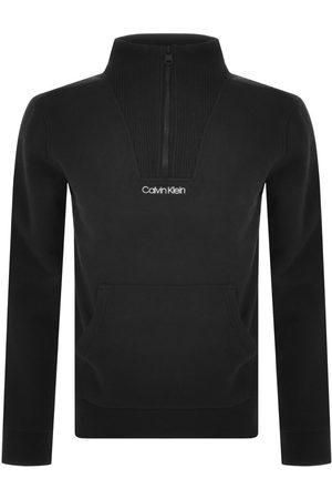 Calvin Klein Mænd Sweatshirts - Half Zip Detail Sweatshirt