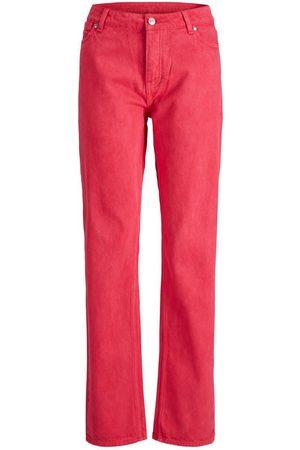 JACK & JONES Mænd Straight - Jxseoul Mw Jeans Akm Straight Fit Jeans Kvinder Brown;