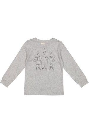 Marmar Copenhagen T-shirt - Modal Fine - Ted Long - Grey Melange
