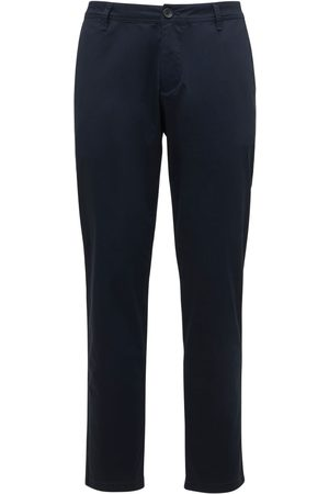 Armani Mænd Bukser - Stretch Cotton Twill Pants
