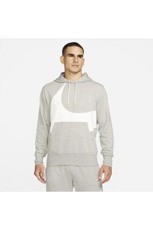 Nike Mænd Hoodies - Sportswear Swoosh-pullover-hættetrøje med semi-børstet bagside til mænd