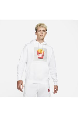 Nike Mænd Hoodies - Sportswear-pullover-hættetrøje med børstet bagside til mænd