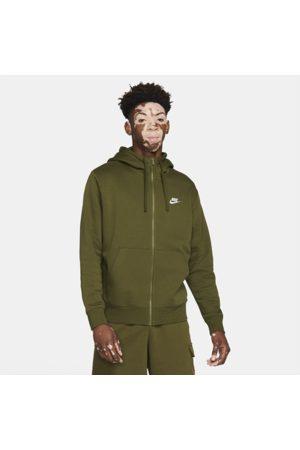 Nike Mænd Hoodies - Sportswear Club Fleece-hættetrøje med lynlås til mænd