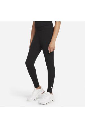 Nike Piger Træningstights - Sportswear Favorites-Swoosh-leggings til større børn (piger)