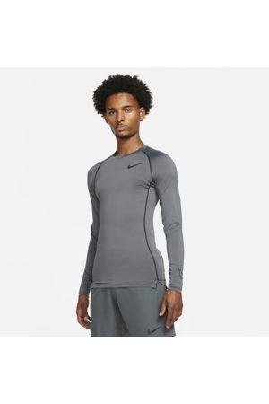 Nike Mænd Langærmede - Pro Dri-FIT–langærmet overdel med tætsiddende pasform til mænd