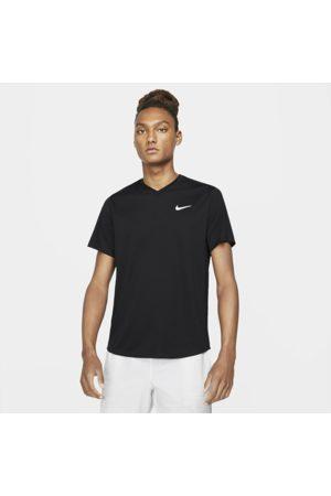 Nike Mænd Kortærmede - Court Dri-FIT Victory-tennisoverdel til mænd