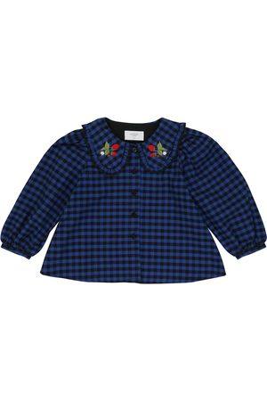 PAADE Checked cotton flannel shirt
