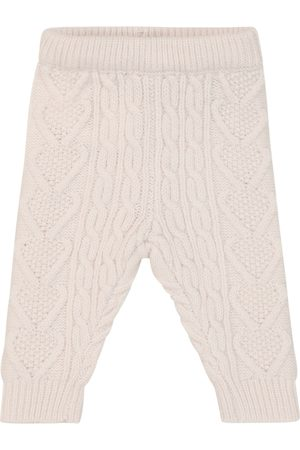 Louise Misha Baby Leggings - Baby Athedor cable-knit leggings