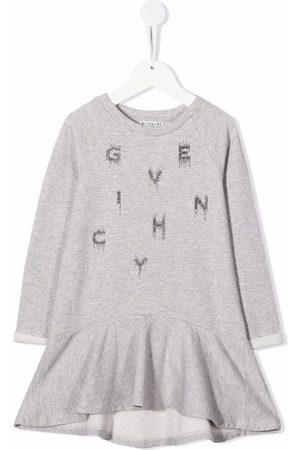 Givenchy Piger Kjoler - Fleece-kjole med logotryk