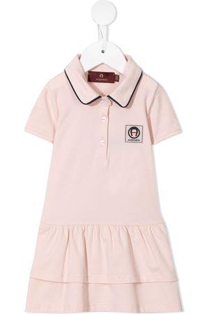 Aigner Piger Langærmede skjorter - Polo-skjortekjole