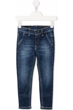 Dondup Jeans med lige ben og falmet effekt