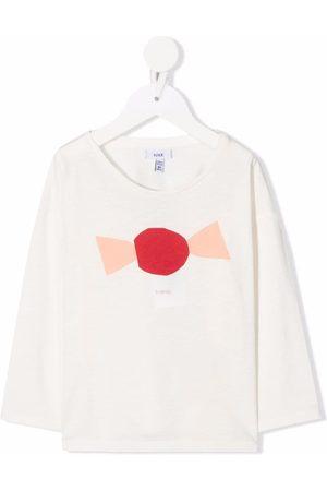 KNOT Piger Kortærmede - A Candy T-shirt med lange ærmer