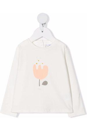 KNOT Baby Kortærmede - T-shirt med blomstertryk