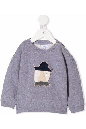 KNOT Baby Sweatshirts - Langærmet Terry Baby Pirate sweatshirt