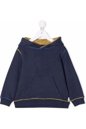 KNOT Drenge Hoodies - Hættetrøje med kontrastsyning