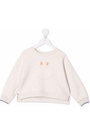 KNOT Piger Sweatshirts - Sweatshirt med Happy-tryk