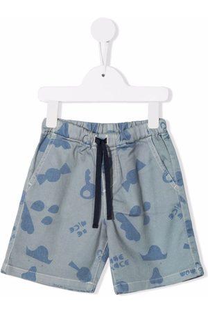 KNOT Drenge Shorts - Shorts med grafisk tryk og snoretræk