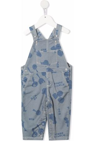 KNOT Baby Overalls - Overalls med abstrakt tryk