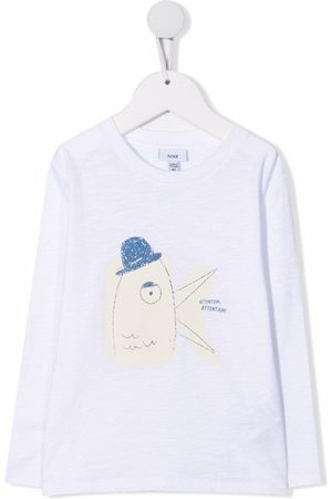 KNOT T-shirt med Attention-tryk