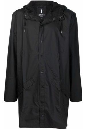 Rains Regntøj - Press-stud hooded raincoat