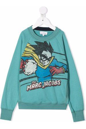 The Marc Jacobs Cartoon-print cotton sweater