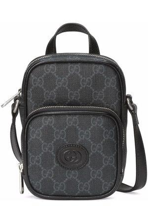 Gucci Mænd Rygsække - Logo-patch zip-fastening backpack