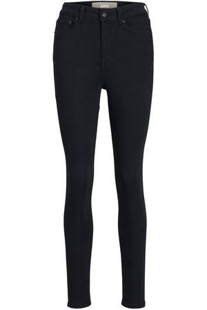 JACK & JONES Mænd Skinny - Jxvienna Hw Cs1003 Skinny Fit Jeans Kvinder Black; Brown