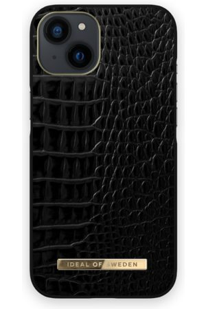 IDEAL OF SWEDEN Mobil Covers - Atelier Case iPhone 13 Neo Noir Croco