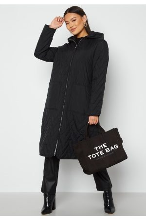 SELECTED Nora Quilted Coat Black